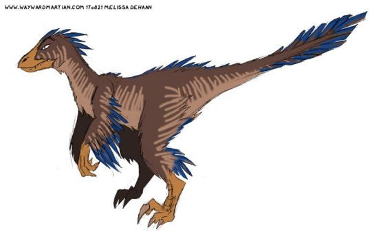 Dinobot with feathers by WaywardInsecticon