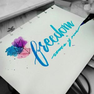 Freedom is a State of Mind by richellevirgiani