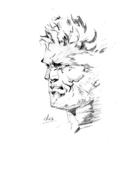 Solid Snake by punknower