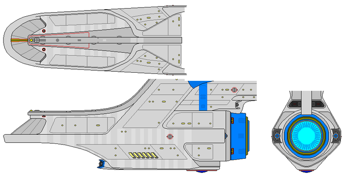 Modified Churchill secondary hull by nichodo