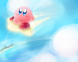 I'm on a Warp Star! by kirbykawaii2105