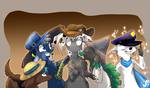 Hats by JB-Pawstep