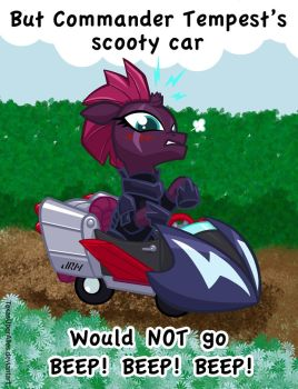Commander Tempest's Scooty Car by TexasUberAlles