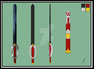 Maha Weapon Sheet Colored - Lavitz SOLD by Asgard-Chronicles