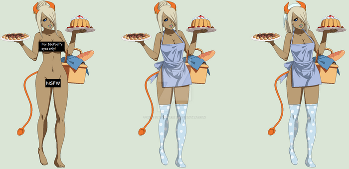 PCM Ambrosia The Culinary Succubus by ShinanaEvangelian