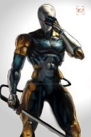 Gray Fox 01 by Vladsnake