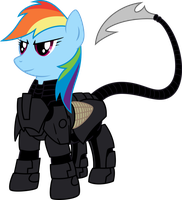 The First Dashite (Battle Ready) (1 of 2) by TheHolyTuna
