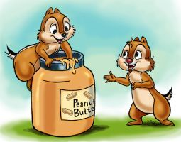Chip 'n' Dale by zdrer456