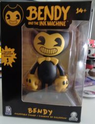 Bendy figure :3 by westhemime