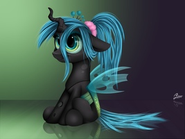 Young Chryssi by LuminousDazzle
