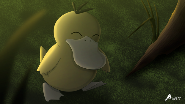 Alldex 0054 Psyduck by All0412