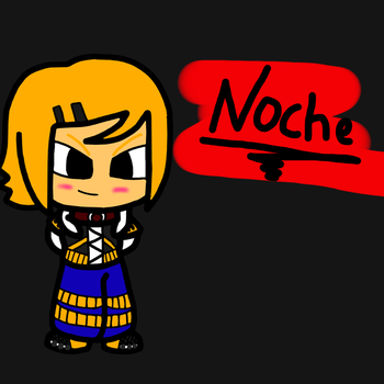 Noche Contest drawing by Mr-Evilness