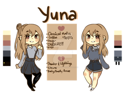 Yuna Reference Sheet by Megumi-ChanYT