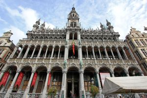 Brussels King's House - front by Lissou-photography