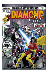 Diamond Girl 19 mock cover by Joe-Singleton