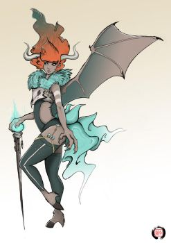 Lilith Concept Art by Little-Asya
