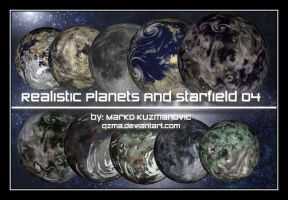 Realistic Planets And Starfiel by Qzma