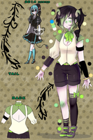 Reference for Goth-Dork (Adoptable thing) by Kimo-Chi