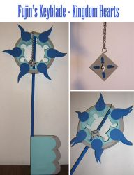 Fujin's Keyblade by Stars-of-the-Water