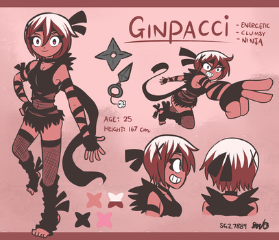 Ginpacci Reference Sheet by SG27889