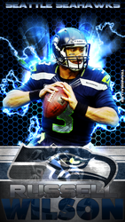 Russell Wilson Cell Phone Wallpaper by TennisBall22