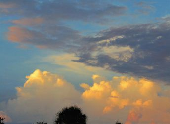 Evening sky and clouds 6-1-18 (2) by knighttemplar1