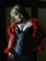 Teresa in Black and Red by cabridges