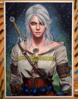 Ciri - The Witcher 3 by Daviddiaspr