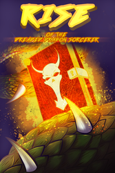 Rise of the Dreaded Dragon Sorcerer (cover vers-2) by TheUnisonReturns