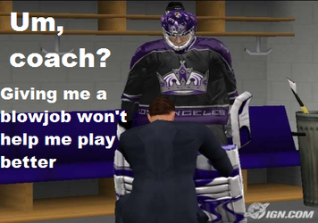 The Goalie Doesn't Approve by HockeyFanatic154