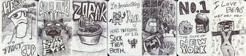 Work Doodles 4: Turner Broadcasting Special by lnsector