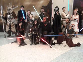 Mixed Cosplay Assortment #2-Jedi's And Siths by Neville6000