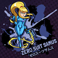 SMASH 150 - 032 - ZERO SUIT SAMUS by professorfandango