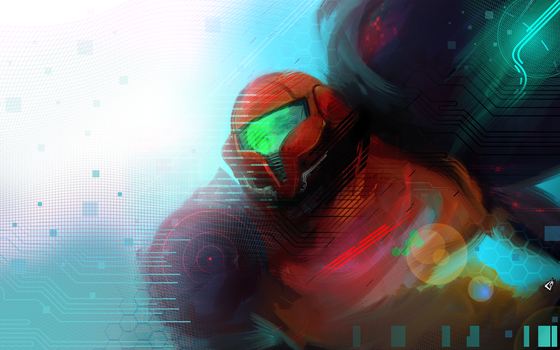 Samus Modern Wallpaper... by GAVade