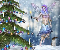 Glimmers of the Holiday Fae by RavenMoonDesigns
