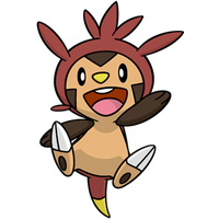 Shiny Chespin Global Link Art by TrainerParshen