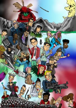 dirk gently holistic detective agency s2 color by kluyten
