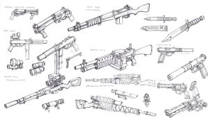 US weapons 2 1 by TugoDoomER