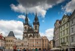 Czech paradise - tourists in the city by Rikitza