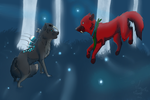 The-f0x contest entry! by Music-lovinFox