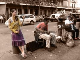 New Orleans Street Musicians by Lucith2