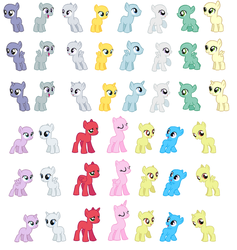 Foal Bases part 1 by EdgeofFear
