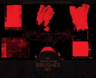 Grunge Brushes #2 by LilithDemoness