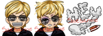 :C: Twitch Emotes Police by Suesanne
