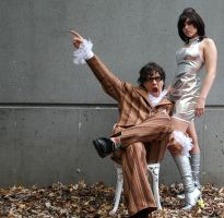 Yeah Baby! Austin Powers and Vanessa Kensington by phantomonex