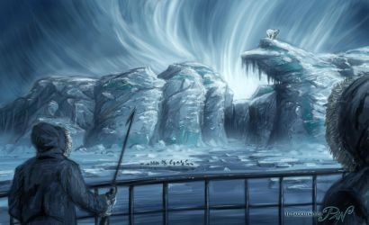 At the North Pole by Panaiotis