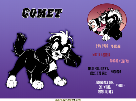 Cheat sheet: Comet. by CathyNoire