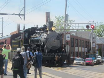 Steam, traffic, and railfans by pennsy