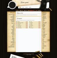 Crime Game layout by Robke22