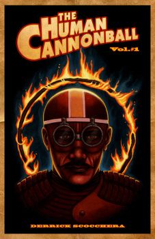 HUMAN CANNONBALL COVER by Frankblanket